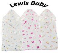 Wholesale 6 Layers Soft Newborn Baby Hooded Muslin Swaddle Baby Hooed Bath Towel Hooded Muslin
