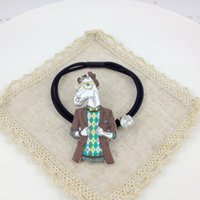 Wholesale Korean Dongdaemun new Hair Rubber Bands cartoon With diamond Hair Rubber Bands Factory direct sale Boutique source Students Hair Jewelry
