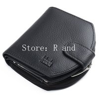 Wholesale Women Wallet Short Genuine Leather Mini Zipper Hasp Coin Credit Card Holder Purse