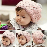 Boy Summer Crochet Hats baby hat kids baby photo props beanie,faux rabbit fur gorros bebes crochet beanie toddler cap for 4 months-3 years old girl,CTL