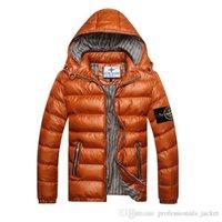 Wholesale Coat Winter Stone Jacket Men Cotton Brand Clothing Jackets Parkas Mans ISLAND cotton Coats