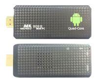 Wholesale 1PCS MK809 Quad Core TV Box Stick Media Player Google Android RK3229 GB RAM GB WIFI Bluetooth P HDMI Smart TV Dongle