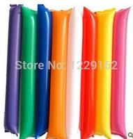 Wholesale pairs Inflatable cheering stick air bang stick hand clap stick for parties and sports games