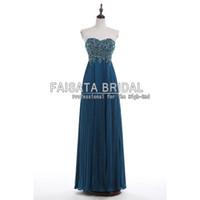 Cheap Vintage Lace Prom Dresses Long Plus Size Peacock Blue Chiffon Skirt Pleats A Line Cheap Evening Dresses 2016 Floor Length Backless Dresses
