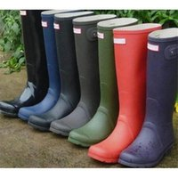 Wholesale 2017 H Rain Boots Waterproof Wellies Wellington rain rainshoes ladies womens thigh high boots women s winter shoe