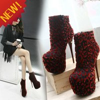 Women Pumps Spring and Fall New female boots and velvet high with fine with waterproof suede machine sexy fashion short boots Martin boots naked short tube