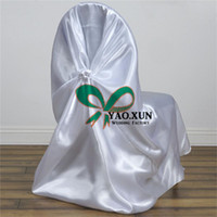 couvertures en gros de chaises en satin en gros achat en gros de-Cheap Price Satin Chair Cover For Wedding & Party Wholesale Price