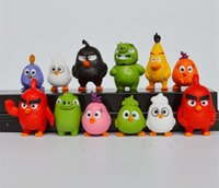 Wholesale 2016 New Version Angry Bird set Action Figures Anime Toys Best Gifts for Children DHL