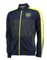 big boy train - White Arsenal Jacket Best Thai Quality Soccer Jerseys Big Boys Training Popular Shirts Factory
