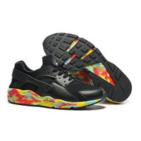 Unisex Football Shoes PU free shopping the 2017 Hot Sale Air Huarache Running Shoes For kids Rose Gold High Quality Sneakers Triple Huaraches Trainers huraches