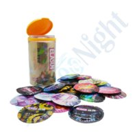 Wholesale ELASUN Types Ultra Thin Condoms Ice and Fire Dotted Pleasure for her Natural Latex Rubber Condoms For men