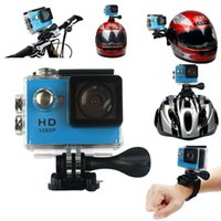 Wholesale HD P fps Mega Pixels Sport Mini DV Action Camera quot LCD Wide Angle Lens M Waterproof WiFi Remote Control