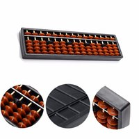 Wholesale 15 Rods Abacus Soroban Beads Column Kid School Learning Aid Tool Math Business Chinese Traditional abacus Educational toys