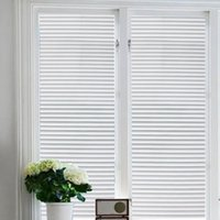 bathroom window shutters - Self adhesive Shutters Stripes Window Film Glass Decal Home Office Door Art Sticker Bathroom WC Privacy Decal P123