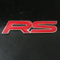 Wholesale Red D RS Metal Emblem Logo Car Sticker Decal Racing Sport Decoration for for Honda Toyota Subaru Impreza