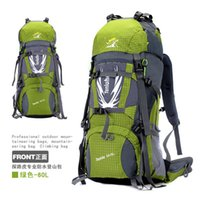 Wholesale Hot Sale L professional unisex outdoor climbing backpack Waterproof polyester softback sport backpack Men multifunctional travel bag