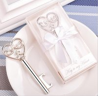 heart bottle opener - a Key to my Heart Bottle opener Wedding favors and gifts Party Supplies JF