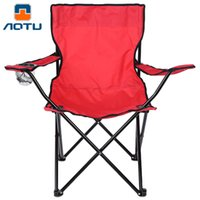 Wholesale High Quality AOTU AT6705 Portable Chair Camping Fishing Leisure Thicken Folding Armchair Perfect For Outdoor Activities