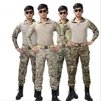 army camping equipment - Outdoor CS Camouflage Tactical Set Frog Military Camouflage Set Hip Hop Tactical Training Service Hiking Camping Military Equipment