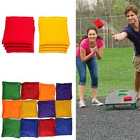 Wholesale Cornhole bags Weather Resistant Bean Bags for cornhole board games Set of recycled plastic Filled Regulation Size