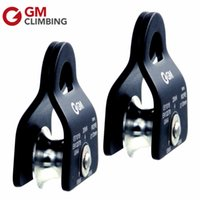 arborist climbing - KN Small Mobile Pulley Fix in or mm Rope Arborist Climbing Pulley For Dragging Hauling
