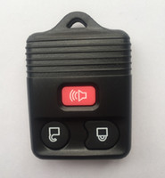 Wholesale Car remote Key shell Remote Fob black transmitter control button for Ford