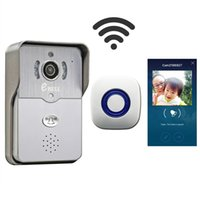 Wholesale eBELL Home Security HD WiFi Video Doorbell Camera w Door Chime Support Mobile APP Unlock See Talk To Visitor Wide Angle To Monitor