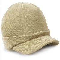 Wholesale Men Women Knit grey Winter Hat Visors Ski Slouchy Chic Caps warm hats