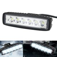 1750lm bars for trucks - Vehicle W Flood LED Work Light ATV Off Road Light Lamp Fog Driving Light Bar For x4 Offroad Truck Trailer Tractor UTV