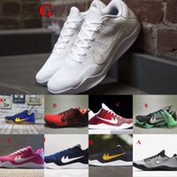 Wholesale Kobe Basketball Shoes Men New Kobe Low Sneakers Good Quality Original Discount Sports Shoes Free Drop Shipping Max