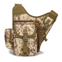 acu molle backpack - Molle Tactical Shoulder Strap Bag Pouch Travel Backpack Camera Military Bag ACU New Outdoor Sports Bags