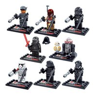 Wholesale Super Hero The Avengers New Star Wars Building Blocks Sets Bricks Toys Dath Stormtrooper
