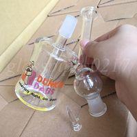 Bong en verre Tubes en verre Bongs pour fumer en verre Mini barres à huile Bubbler Inline Percolator Water Smoking Pipe