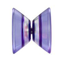 Wholesale ShenZhou YOYO Qixia KK Bearing Plastic YoYo TiaoZhanZhe Challenger Purple Great YoYo Toys for Your Little Kid