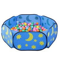 Wholesale Indoor children s play toy tent outdoor portable blue sky ocean ball pool game pool parent child interaction
