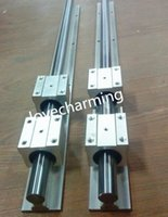 bearing with shaft - 2 Sets SBR30 mm MM FULLY SUPPORTED LINEAR RAIL SHAFT ROD with SBR30UU BEARING CNC