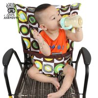 Wholesale XIAOYOUYU Baby Chair Portable Infant Seat Product Dining Lunch Chair Seat Safety Belt Feeding High Chair Harness Baby Carrier