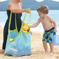 big sandbox - PC Kids Toys Sand Big storage Box For Child Sandbox Castle Beach Balls Home Bag