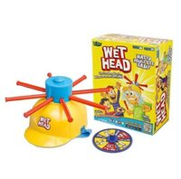 Wholesale Wet Head Game WET HEAD CHALLENGE Jokes Funny Toys roulette game Tricky cap New Table Game New Amusement Toys Wet Head Challenge HHA913