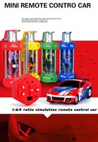 Wholesale RC Car WD MHz Motor Mini Fast Car Remote Remote Control Model Sports Car Toy Children s Christmas Gift