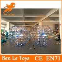 Heat sealed adult rentals - Hot sale transparent mm pvc m diameter adult bumper ball for rental IBB