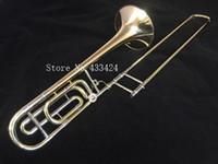 Wholesale Bach Stradivarius G Bb Trombone PROFESSIONAL F Trigger VINTAGE Phosphor bronze