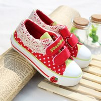 Wholesale new brand kids shoes kd shoes girl shoes canvas shoes casual shoes cute fashion princess shoes baby shoes