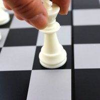 Wholesale Folding chess table fly magnet portable large children s toys toys stereo chess board