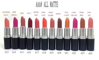 Wholesale 20 pc New Color lustre lipstick rouge a levres g makeup lipstick Will English name