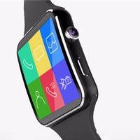 Spanish apple twitter - Call function Camera Bluetooth Smart Watch X6 Curved Screen Support SIM TF Card Facebook Twitter DHL Free MX2