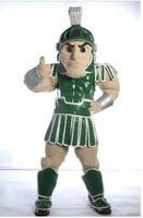 Wholesale 2017 Hot Brand New Mascot City Spartan trojan knight mascot costume custom fancy costume kits mascot fancy dress carnival costume