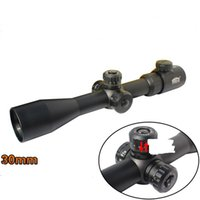 Wholesale 10 x50 adjusted shooting Sniper sights hunting scopes sights rifle shooting scope sights gun telescopic sight gun accesaries scopes