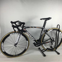 Wholesale Hot Sale Black Ridley Carbon Complete Road Bike Clearance DIY Bike With Ultegra Groupset handlebar saddle