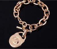 alloy texture - 2017 new bracelet Factory Outlet first jewelry chain simple polished texture heart bracelet alloy